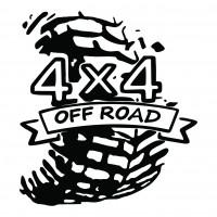Sticker auto, Off Road Tyre