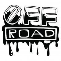Sticker auto, off road Elapsed