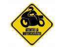 Sticker atentie la motociclisti