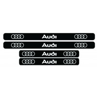 Set stickere praguri Audi, sticker decorativ