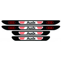 Set stickere praguri Audi, multicolor, decorativ