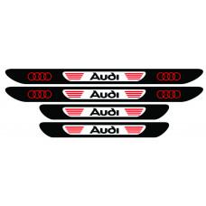 Set stickere praguri Audi, multicolor, decorativ