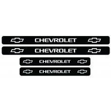 Set stickere praguri Chevrolet, sticker decorativ