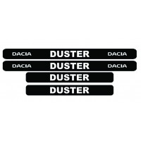 Set stickere praguri Dacia DUSTER, sticker decorativ