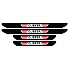 Set stickere praguri Duster, multicolor, decorativ