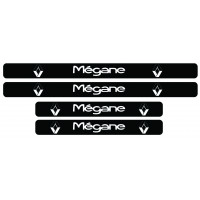 Set stickere praguri Megane, sticker decorativ