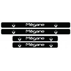 Set stickere praguri Megane, sticker decorativ