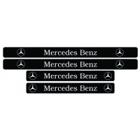 Set stickere praguri Mercedes-Benz, sticker decorativ
