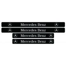 Set stickere praguri Mercedes-Benz, sticker decorativ