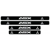 Set stickere praguri Mitsubishi ASX, sticker decorativ