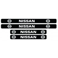 Set stickere praguri Nissan, sticker decorativ