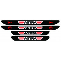 Set stickere praguri Opel Astra, multicolor, decorativ