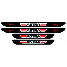 Set stickere praguri Opel Astra, multicolor, decorativ
