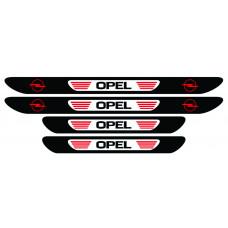 Set stickere praguri Opel, multicolor, decorativ