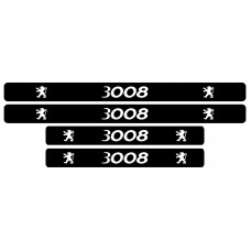 Set stickere praguri, Peugeot 3008