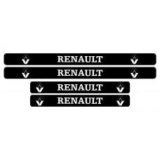 Set stickere praguri Renault