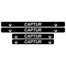 Set stickere praguri, Renault Captur