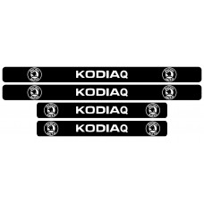 Set stickere praguri, Skoda Kodiaq
