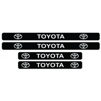 Set stickere praguri Toyota, sticker decorativ