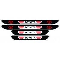Set stickere praguri Toyota, multicolor, decorativ