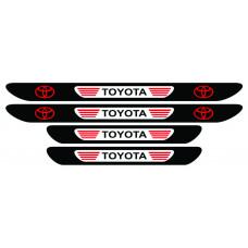 Set stickere praguri Toyota, multicolor, decorativ