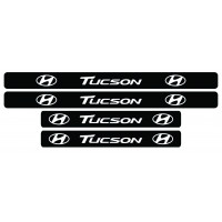 Set stickere praguri Tucson, sticker decorativ