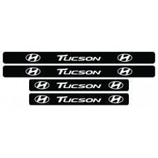 Set stickere praguri Tucson, sticker decorativ